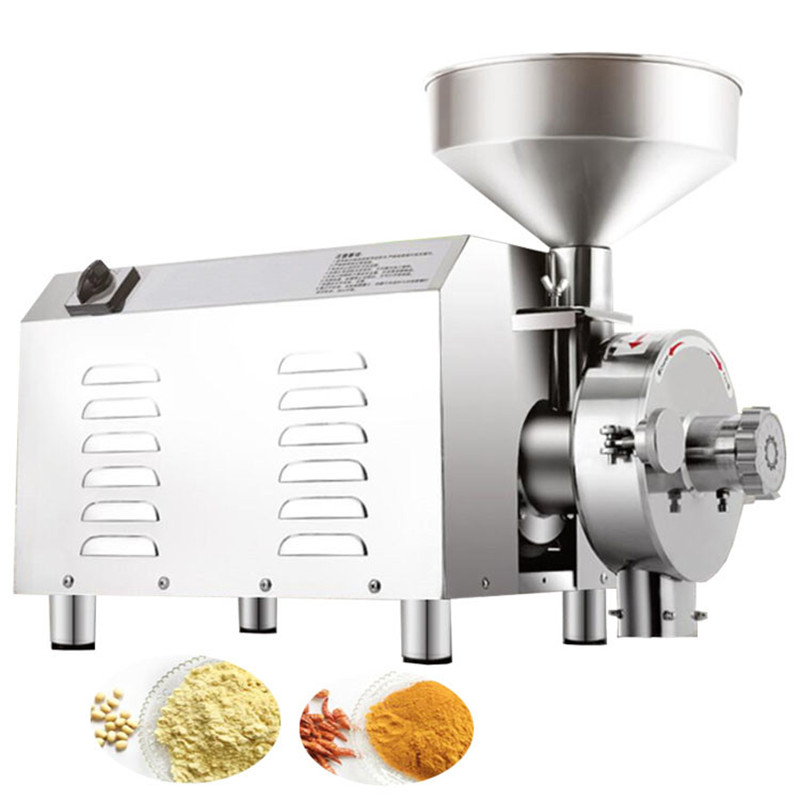 3000w commercial fine powder grinder/electric pseudo-ginseng cereal powder grinder/grain maize powder milling machine price hot selling 100% natural pseudo ginseng