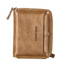 zipper wallet men Pu leather fashion