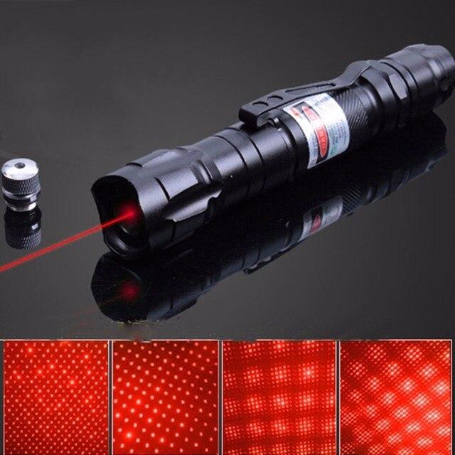 אדום 650NM מצביע לייזר עט מתח גבוה מואר Single Point כוכבים לייזר אדום גלוי