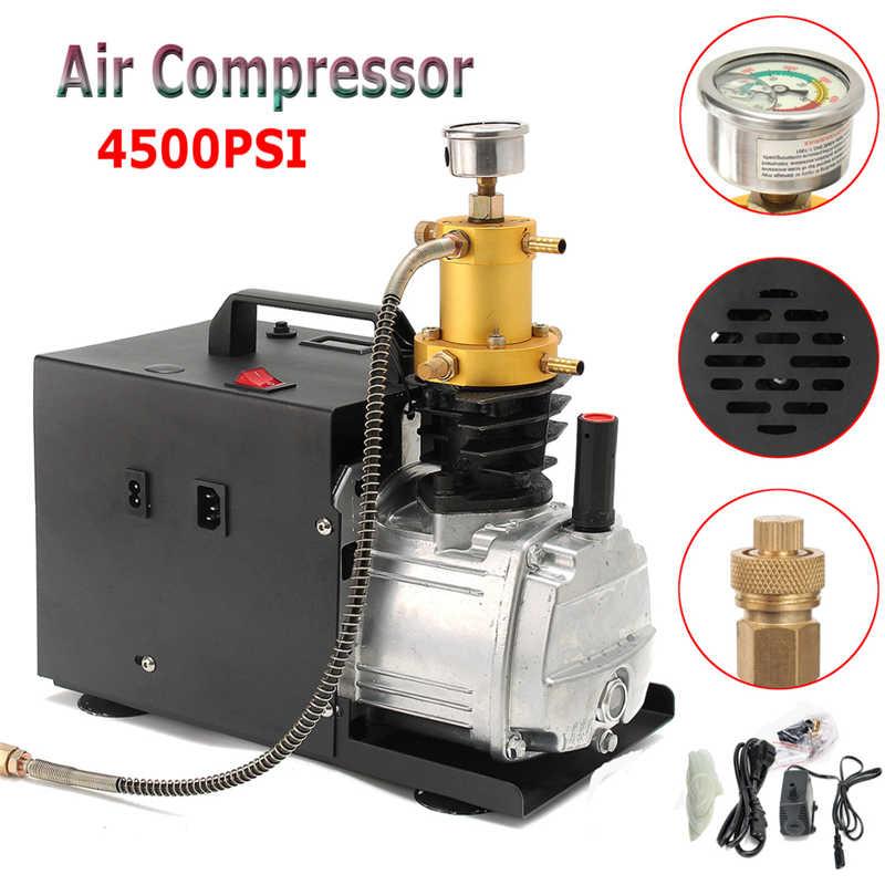 Воздушный компрессор высокого давления В 220 В Электрический насос PCP воздушный компрессор 4500 PSI автомобильный воздушный насос автоматическ...