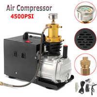 High Pressure 220V Electric InflatorPump PCP Air Compressor 4500 PSI Car Air Pump Auto Compressor for 40amp Paintball Air Rifles