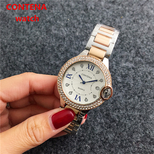 Фото Top Brand Diamond Quartz Fashion watch women