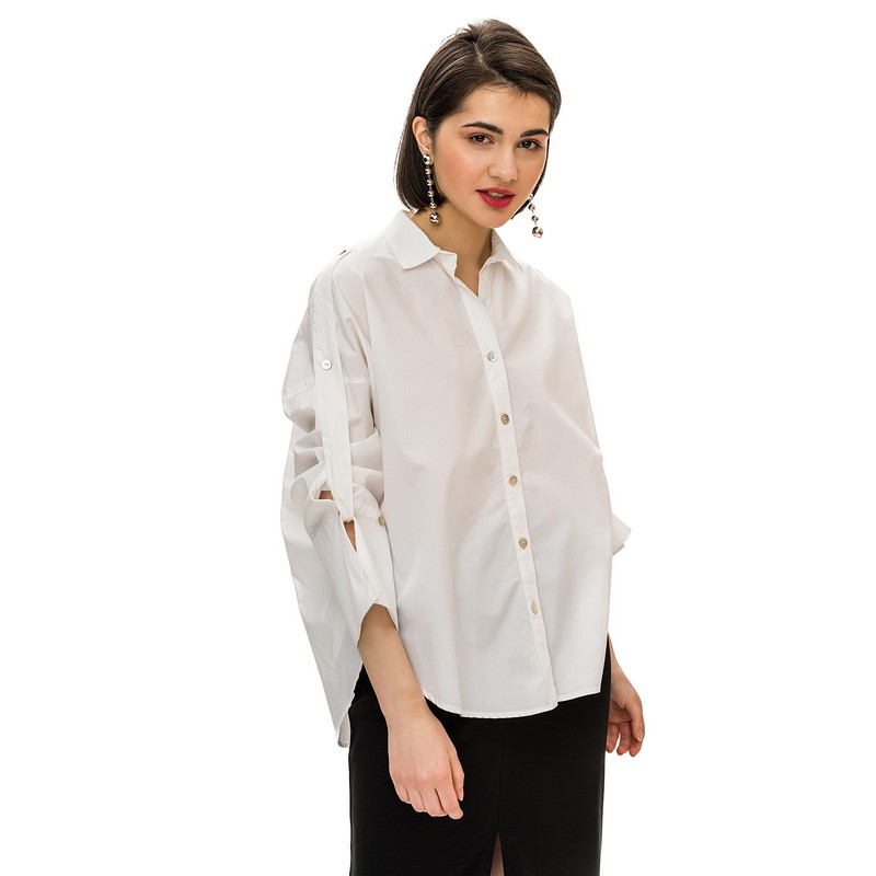 Blouses & Shirts blouse befree for female cotton shirt long sleeve women clothes apparel  blusas 1811400356-1 TmallFS