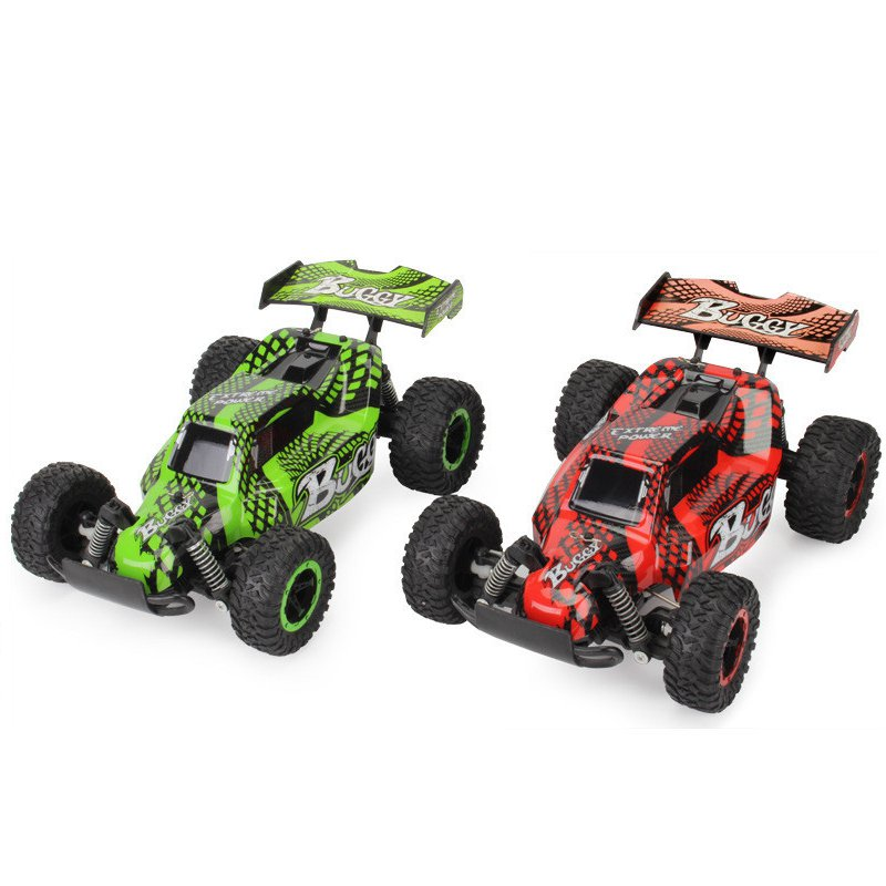 JD-2610B 1/16 2.4G 4WD High Speed RC Car Racing Off-Road Truck Buggy Red/Green Electronic RC Smart Toys For Kids цена и фото