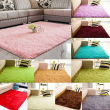 Faux Fur Area Rugs Para Casa Fluffy Anti-Slip Shaggy Alfombras Carpets 16 Colors Gold Velvet Tapis Rugs Carpets For Living Room
