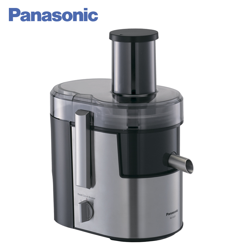 Panasonic MJ-DJ01STQ Juicer 800W 1.5L Protection against accidental activation Juice level indicator free shipping manual stainless steel wheatgrass juicer healthy wheat grass juicer machine wheat grass juice extractor