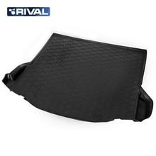 Для Ford Focus 3 SEDAN 2011-2019 коврик багажника Rival 11801004