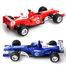 Finger Rock 1/24 Scale F1 Racing Car Alloy Car Model Kids Diecast Vehicle Toys With Pull Back Funtion Education Oyuncak For Boy(China)