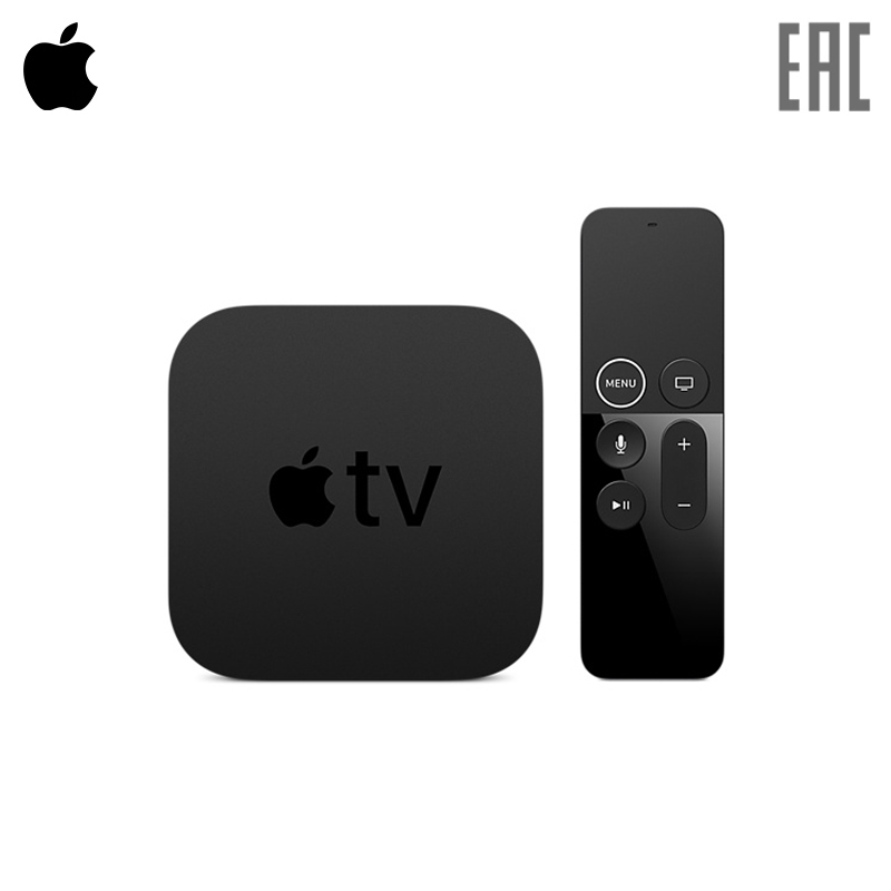 Set top box Apple TV 4K (32GB)-SUN x92 2gb 16gb android 6 0 smart tv box amlogic s912 octa core cpu kodi 16 1 fully loaded 5g wifi 4k h 265 set top box