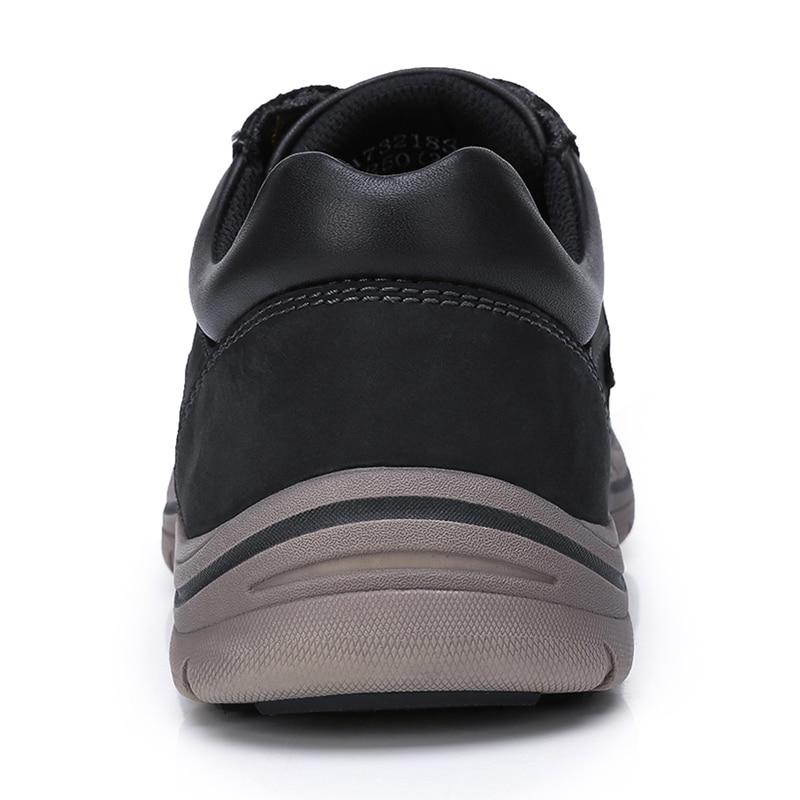 Sapatos Fundo Do Genuíno Masculino Apartamentos Calçado Ao Alta Couro De Grosso Homens A732183370hei Ar Livre Qualidade Retro Homem Camelo a732183370qianzong Cinza 5TnqwfI