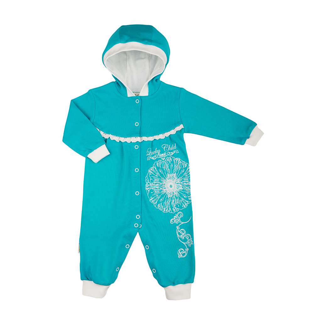 Jumpsuit Lucky Child for girls and boys 14-3 Children's clothes kids newborn baby boy girl infant warm cotton outfit jumpsuit romper bodysuit clothes