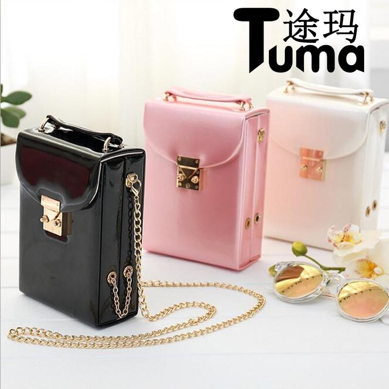 2017 New Portable jewelry Display Shoulder Bag Leather Jewelry Handbag Earrings Organize Creative Storage Box For Women