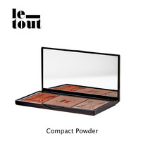 LE TOUT Compact Powder Makeup Face 7.5g Professional Natural Ingredients Women Facial Powders Face Care Le Tout Cosmetics