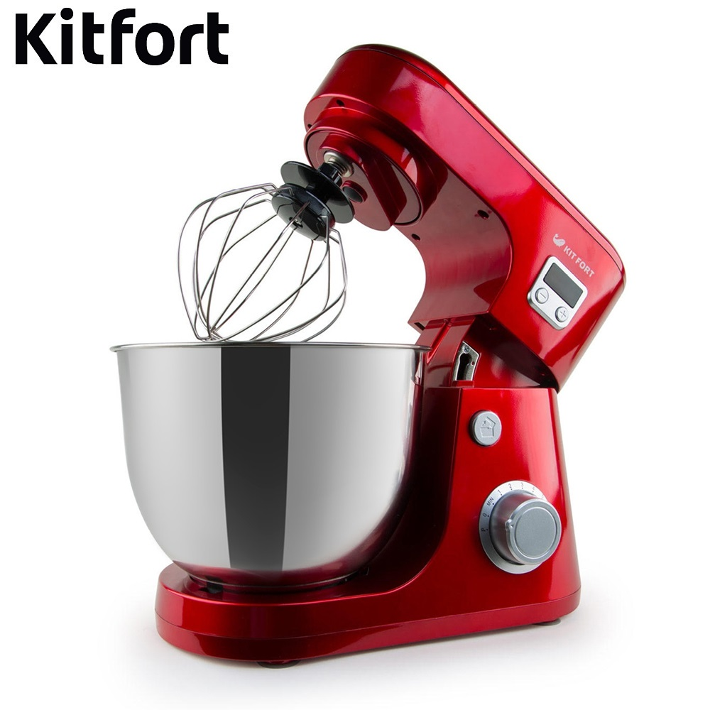 Food Mixer electric kitchen KITFORT KT-1308 Cocktail shaker mixers Planetary mixer Dough Mixer with bowl Kitchen machine single handle brass mixer tap waterfall kitchen sink faucet
