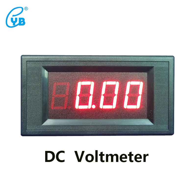 YB5135A DC <font><b>Voltage</b></font> Meter Three and A Half Voltmeter LED Digital Voltmeter Digital ICL 7107 DC <font><b>Voltage</b></font> Meter Tester image