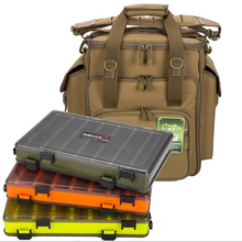 Двухсторонняя коробка для снастей, коробка для аксессуаров, приманка, рыболовный контейнер для снастей