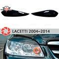 Брови для Chevrolet Lacetti 2004 ~ 2014 Седан для фар реснички ресницы пластиковые молдинги Декоративные Накладки для автомобиля Стайлинг