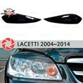 Las cejas para Chevrolet Lacetti 2004 ~ 2014 Sedan para faros cilios de pestañas de molduras decoración trim cubre estilo de coche