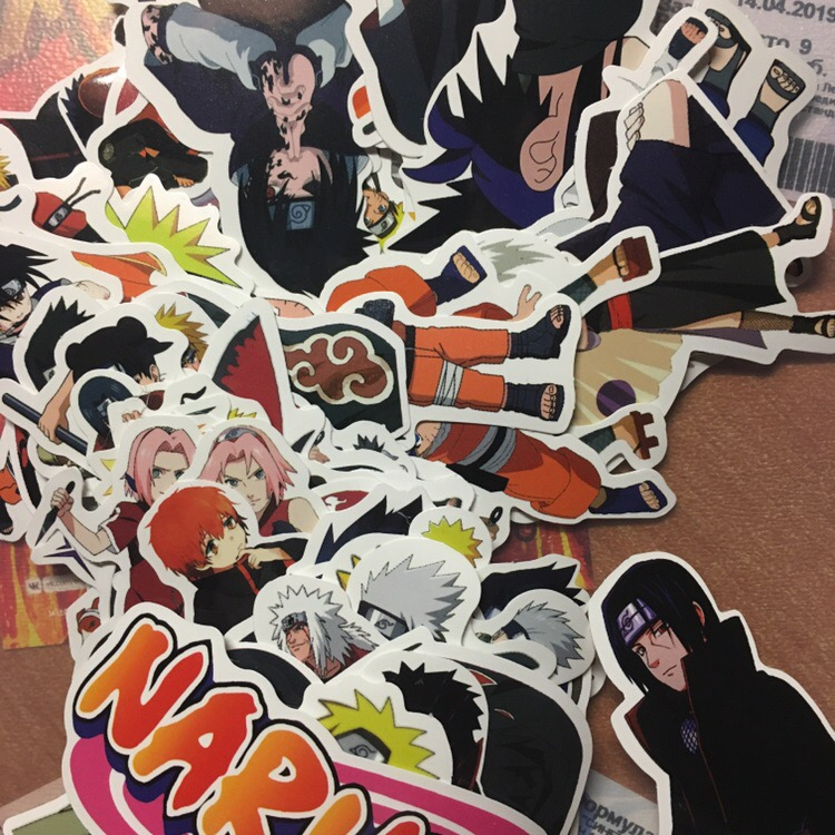 Naruto Sticker (x63) photo review