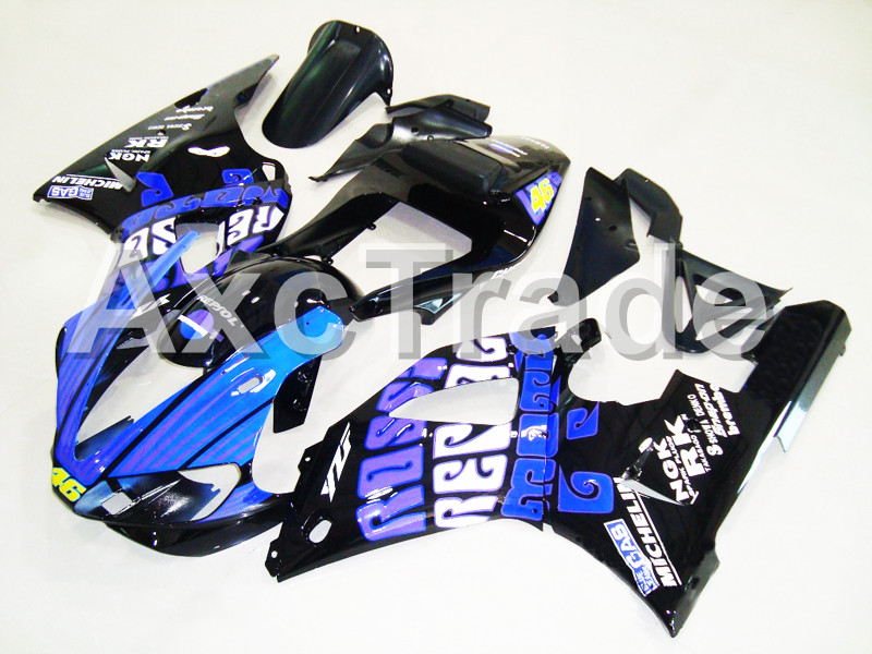 Motorcycle Fairings For Yamaha YZF1000 YZF 1000 R1 YZF-R1 2000 2001 00 01 ABS Plastic Injection Molding Fairing Bodywork Kit 206 injection molding motorcycle abs plastic bodywork fairing kit fit for yamaha yzf1000 r1 2015 2016 2017 colours fairing parts yzf