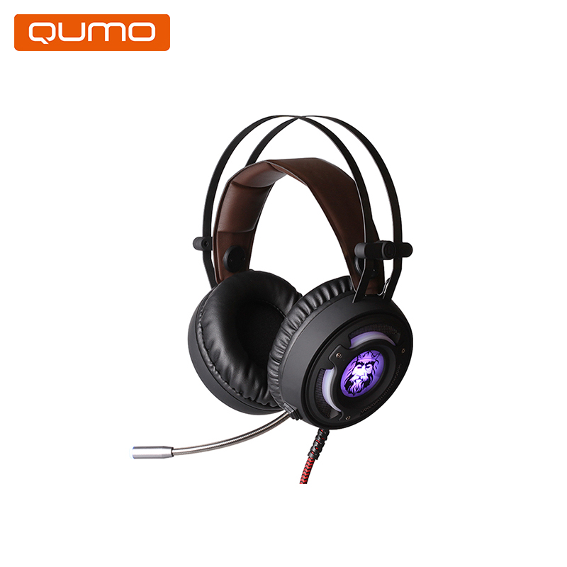 Gaming headset Qumo Avalon GHS006 hl good quality original wireless headset bluetooth headphone headband headset with fm tf led indicators for iphone cell phone