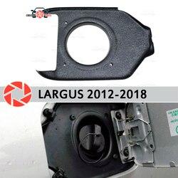 Abdeckung in die öffnung hatch kraftstoff für Lada Largus 2012-2018 trim zubehör schutz auto styling dekoration füllstoff neck