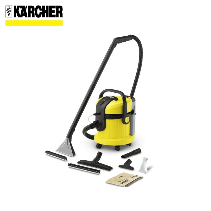 Washing vacuum cleaner Karcher SE 4002 *EU Wet and dry hoover Dust-collecting fan Dust monitor Water cleaner vacuum cleaner wet and dry karcher ad 4 premium eu ii