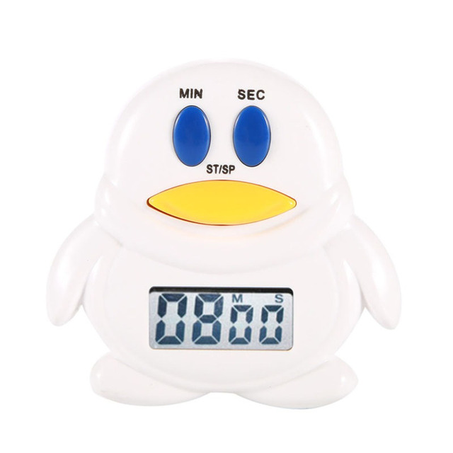 Mini Penguin/ Chicken Home Kitchen 99 Minutes 59' Cooking Mechanical Timer Alarm Bell