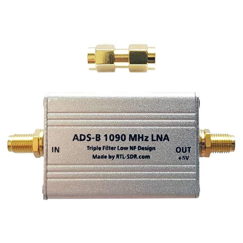 ADS-B lna alto desempenho triplo filtro baixo amplificador nf por RTL-SDR blog