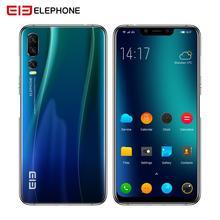 Elephone A5 6 ГБ 128 Гб Смартфон Android 8,1 MTK6771 Octa Core 6,18 дюймов FHD + безрамочный экран U-Notch Экран 20MP камера 4000 мА/ч, 4G, мобильный телефон