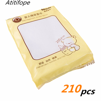 210pcs Nappy Liners baby disposable soft cloth diaper liner nonwoven fabric liners 22*30cm unscent Liner for