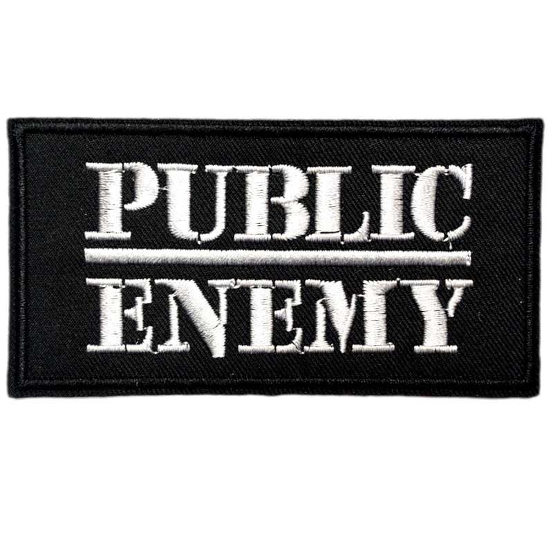 3 9 PUBLIC ENEMY Hip Hop Rap Music Rock Punk Band LOGO Embroidered IRON ON Patches