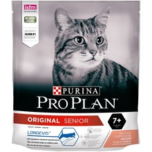 Сухой корм Purina Pro Plan для взрослых кошек старше 7 лет, с лососем, 8 упаковок по 400 г