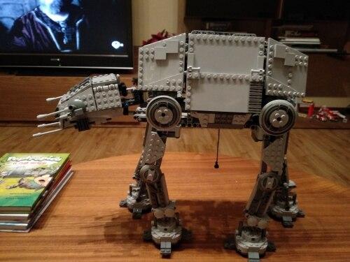 LEPIN 05050 Star Wars The 75054 AT-AT Robot Block Set (1167pcs) photo review