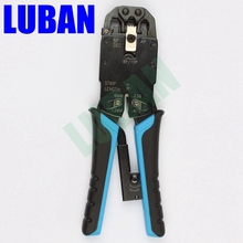 Multifunctional TL-200R ethernet cable modular crimping pliers strippers RJ45 10p10c 8P8C 6P4C 8″ more in one modular tools