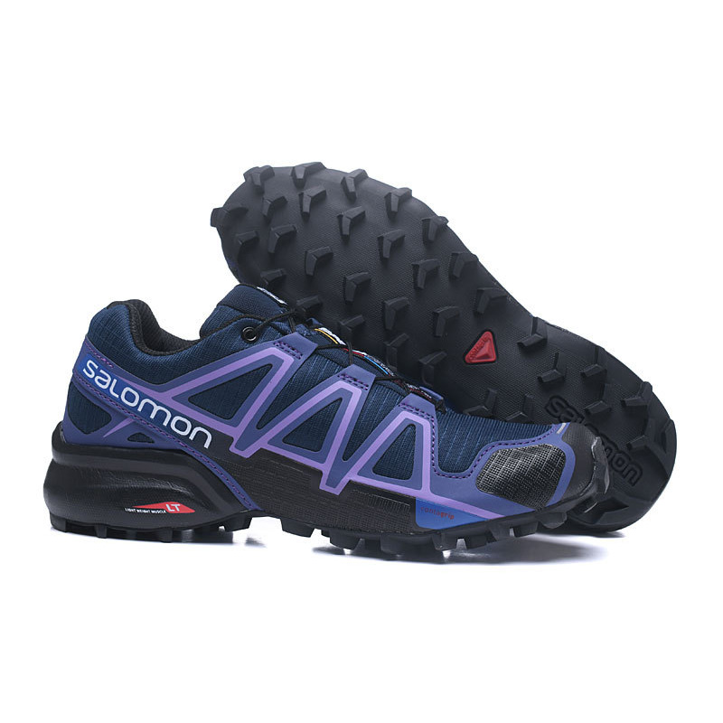 Salomon Speed Cross 4 Free Run RETRO COMFORTABLE Sport Shoes Outdoor Running Sneakers Women Footwear BIG SIZE