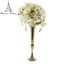Flower Vase Mermaid Floral Trumpt Centerpieces for Wedding Event Party Decorations 10pcs