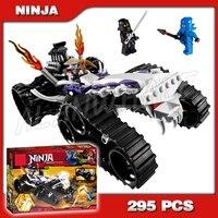 295pcs Ninja Turbo Shredder Golden Scythe Silver sword 9732 Building Blocks Model Toys Spinjitzu Dojo Compatible With lego