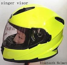 Новейшая версия Bluetooth мотоциклетные гарнитура мягкие Mic для интегрального/полный шлем мотокросс шлем