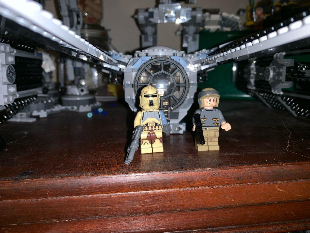 LEPIN 05048 Star Wars The 75154 TIE Striker Block Set (588Pcs) photo review