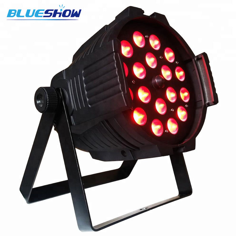 zoom 18x12w rgbwa 5in1 led par light