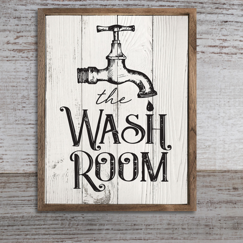 Water Laundry Posters Bathroom Canvas Paintings Photo ...