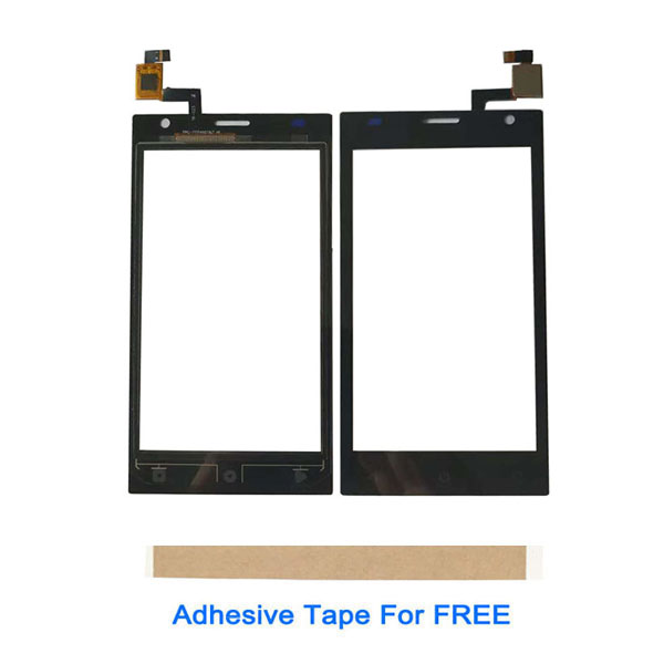 4.0 Inch For Prestigio Wize OK3 PSP3468 DUO PSP3468DUOTouch Screen Glass Lens Digitizer Sensor Black White Color With Tape image