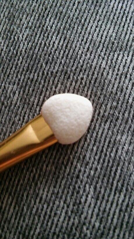 12pcs Eyeshadow Applicator Pro Sponge Double Ended Make Up Supplies Portable Eye Shadow Brushes Nail Mirror Powder Brush