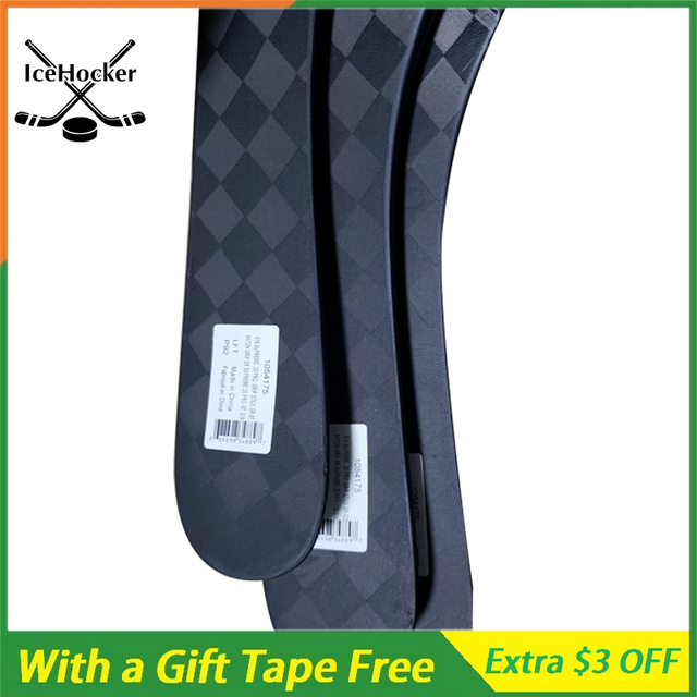 Carbon Fiber Ice Hockey Stick N Series 2 with a Free Tape with Grip SR/INT/JR P92 P88 P28 Light Weight 420g FREE SHIPPING