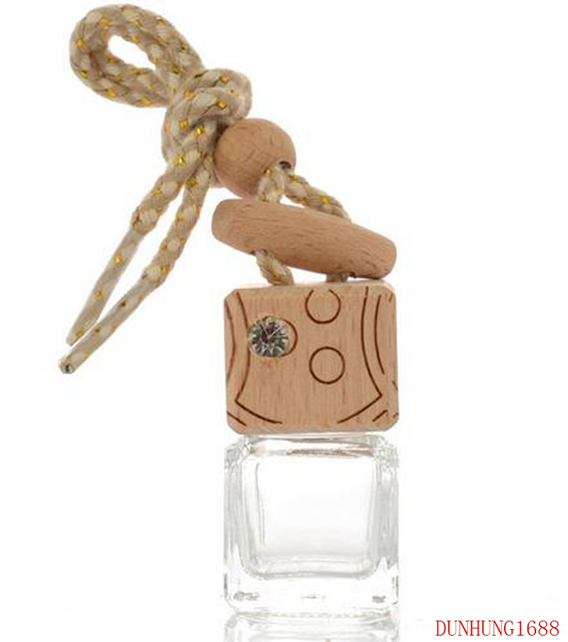 FREE SHIPPING 300PCS 8ml Hanging Car Perfume Bottles Car Pendant Accessories Bottle Empty Glass Bottle wholesale 100 pcs 5ml small glass vials with cork tops bottles little empty jars 22 30mm free shipping