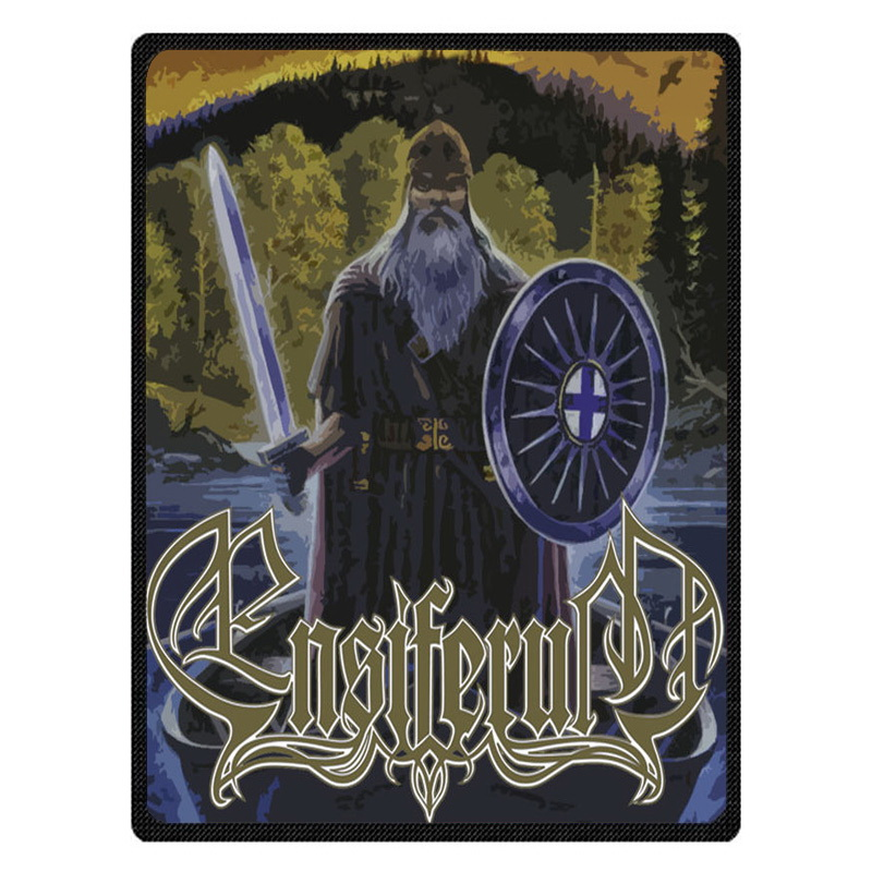 Ensiferum Throw Blankets Customized Blanket Manta Coral Flannel Blanket Sofa/Couch Bed/Plane Travel Foot Coverlet