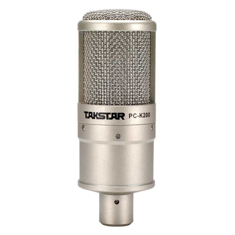 Original Takstar PC-K200 Microphone Recording/broadcasting/on-stage performance Condenser Microphones K Song Mini Microphone