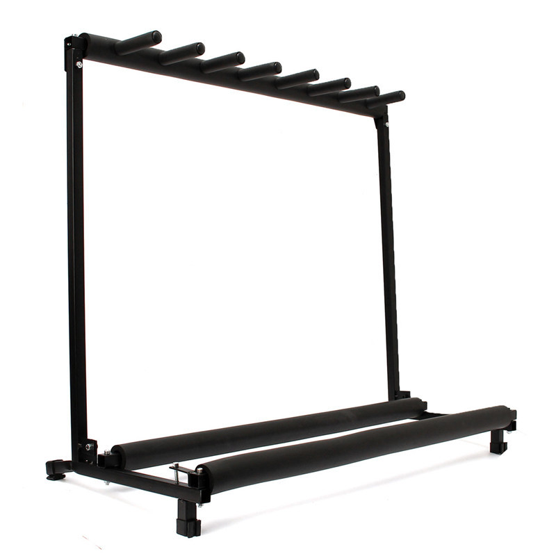 7 Way Multi Guitar Stand Foldable Rack Storage Electric Acoustic Bass Guitar Bracket For Musical Instrumrnts Parts Accessories