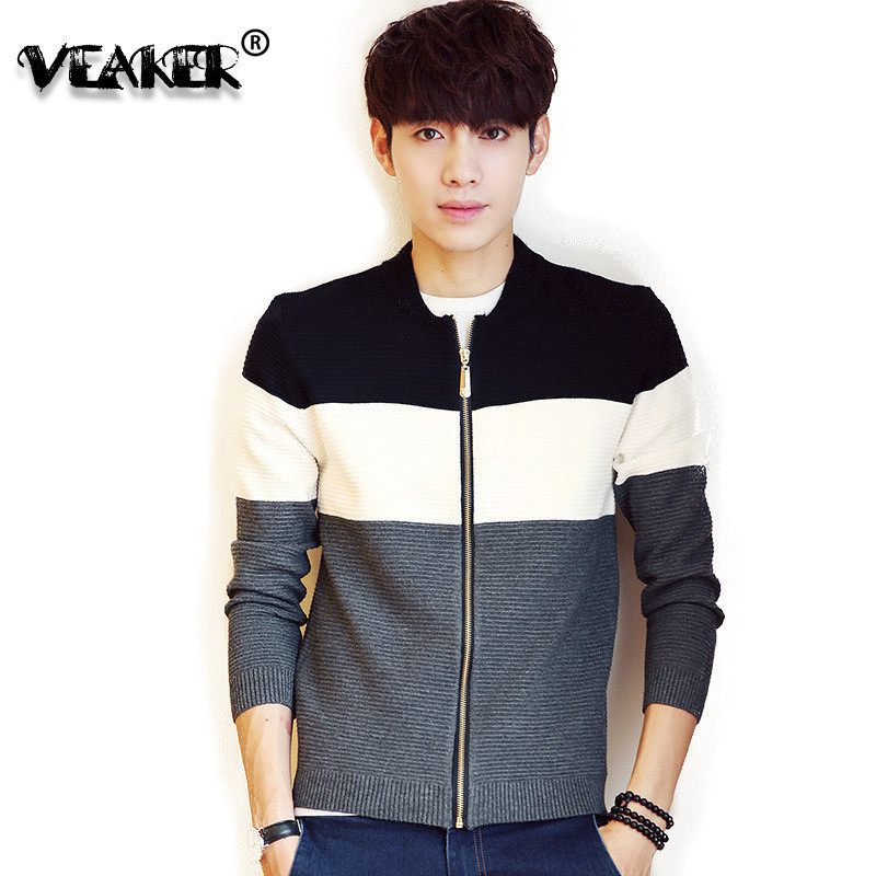 2020 New Spring Autumn mens cardigan sweater Coat casual knitwear coats Male cardigans Knitted Outerwear zipper Sweaters M-3XL